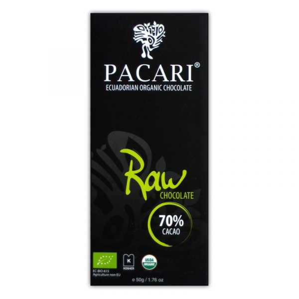 Pacari Raw (unroasted) 70%
