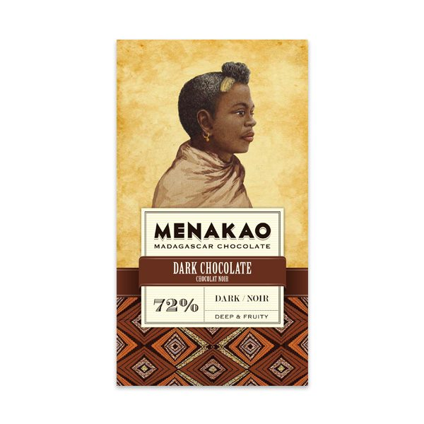 Menakao Dark Chocolate 72%