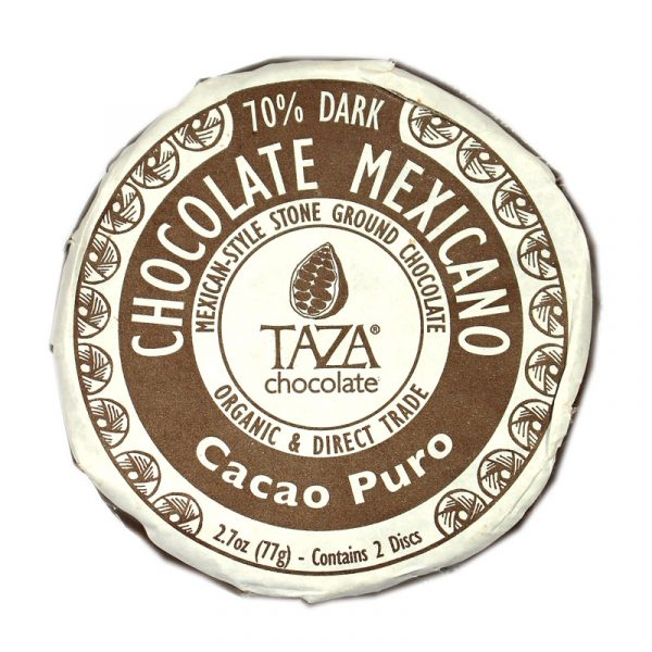 Taza Chocolate Mexicano Cacao Puro