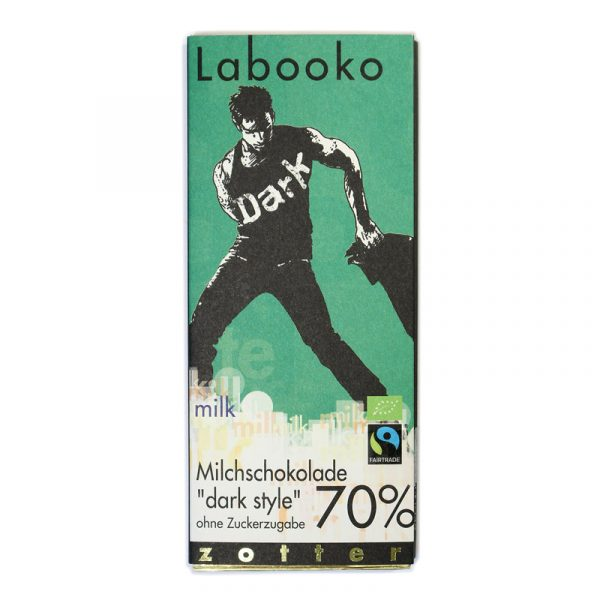 Zotter Labooko 70% Dark Style Milk Chocolate