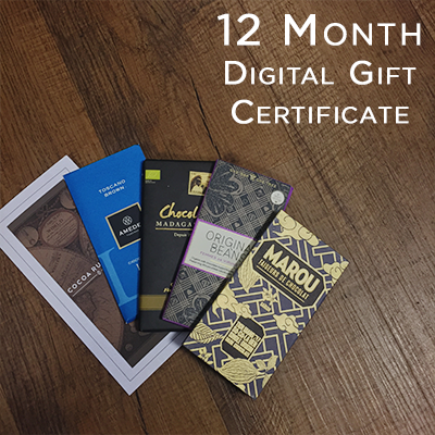Digital Gift Certificate: 12 Month Tasting Course