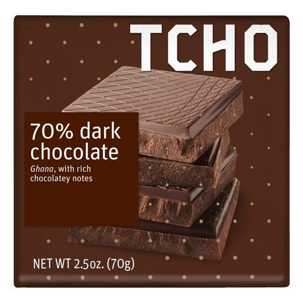 TCHO PureNotes Dark Chocolatey 70%