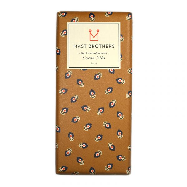 Mast Brothers Dark Chocolate With Cocoa Nibs