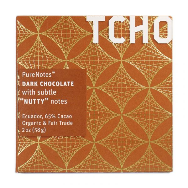 TCHO PureNotes Dark Chocolate with Nutty Notes
