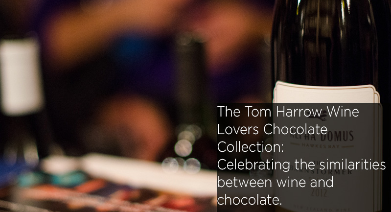 Tom Harrow Wine Lovers Chocolate Collection