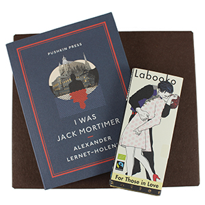A Book And A Bar: I Was Jack Mortimer