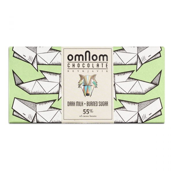 Omnom Dark Milk & Burned Sugar (Carton of 10)