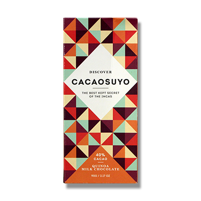 Cacaosuyo Quinoa Milk Chocolate