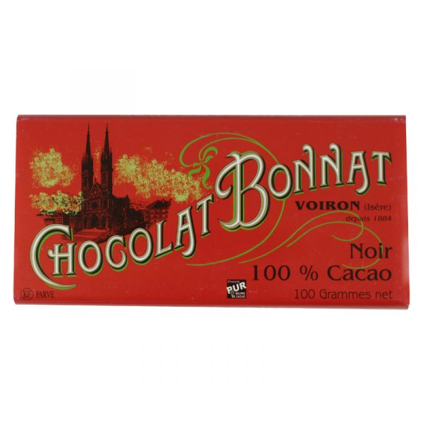 Bonnat - 100% Cacao (Carton of 30)