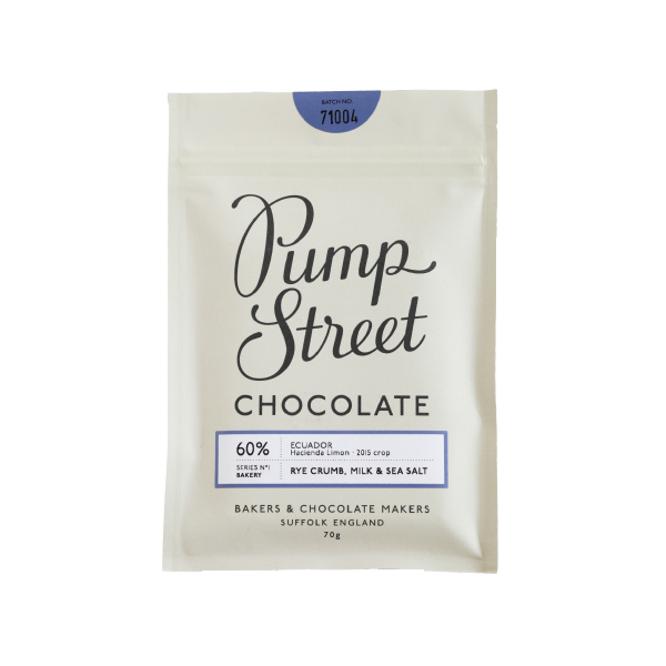 Pump Street Chocolate Rye Crumb & milk