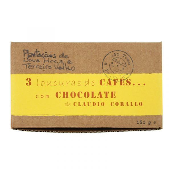 Claudio Corallo Roasted 55% Chocolate Covered Coffee Beans