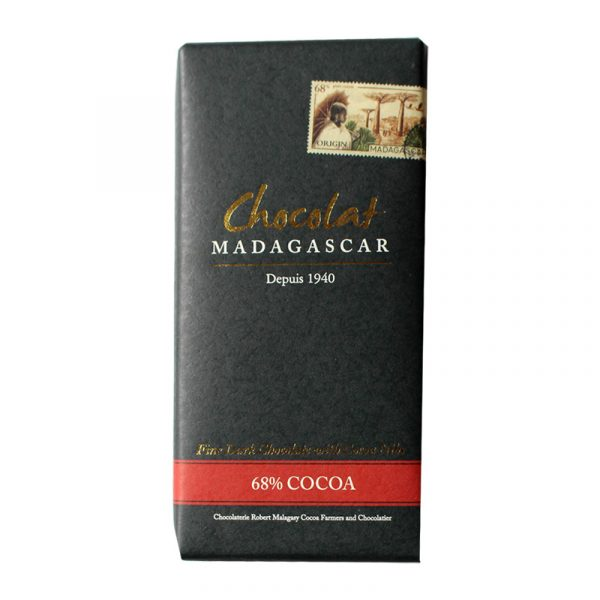 Chocolat Madagascar 68% with Cocoa Nibs