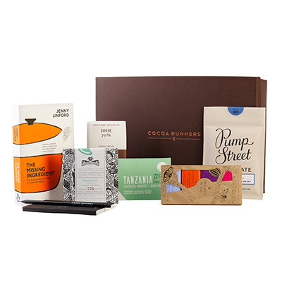 The Missing Ingredient - A Deluxe Book & Bar Gift