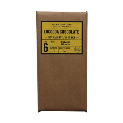 Lucocoa Natural Blonde White Chocolate