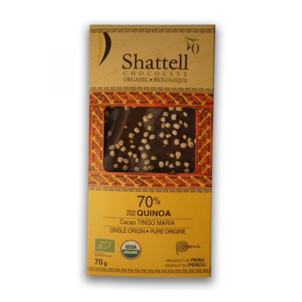 Shattell - Tingo Maria Dark with Quinoa