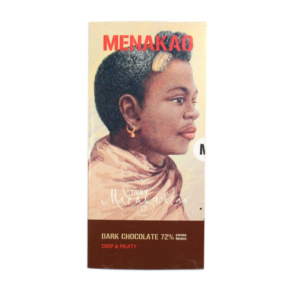Menakao Dark Chocolate 72% (Taster Bar) (Carton of 24)