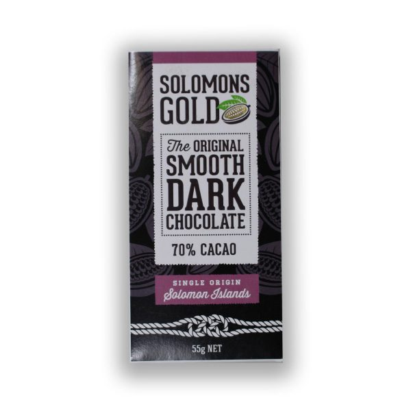 Solomons Gold 70% Dark Chocolate (CARTON160)
