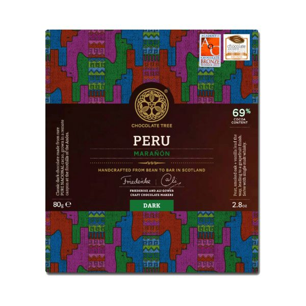 Chocolate Tree - Peru Maranon Dark