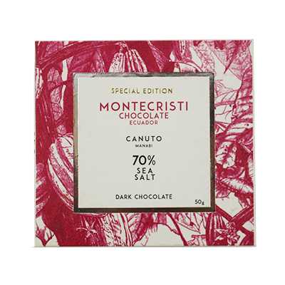 Montecristi - Canuto 70% Dark Chocolate with Sea Salt