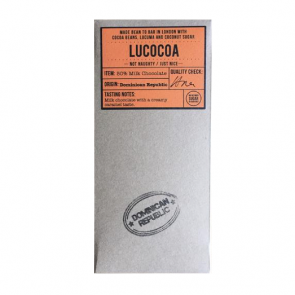 Lucocoa - Dominican Republic Milk 50%