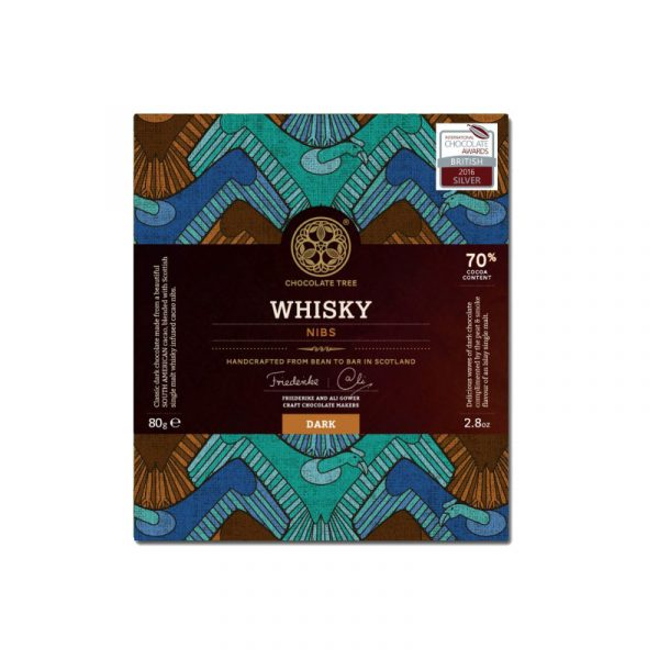 Chocolate Tree - Whisky Nibs Dark Chocolate