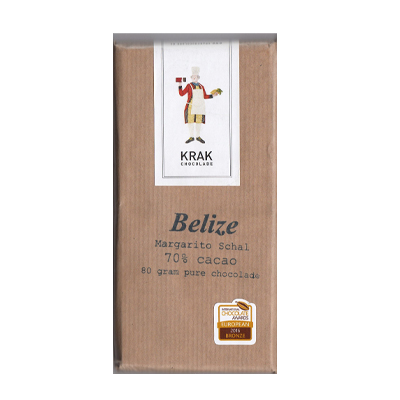 Krak Chocolade - Belize 70% Dark Chocolate