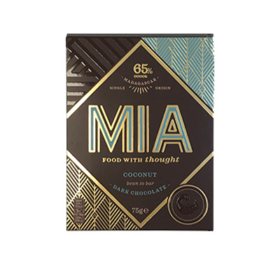 MIA - 65% Dark Chocolate with Coconut
