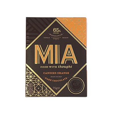 MIA - 65% Dark Chocolate with Orange