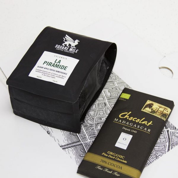 Square Mile Coffee Roasters Chocolate And Coffee Gift
