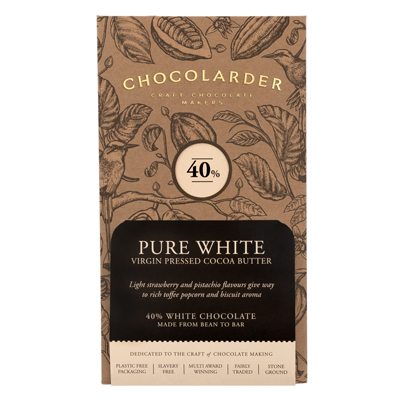 Chocolarder - 38% Pure White Chocolate