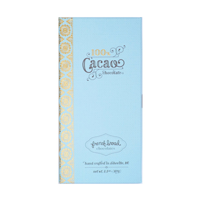 French Broad Chocolates - 100% Cacao