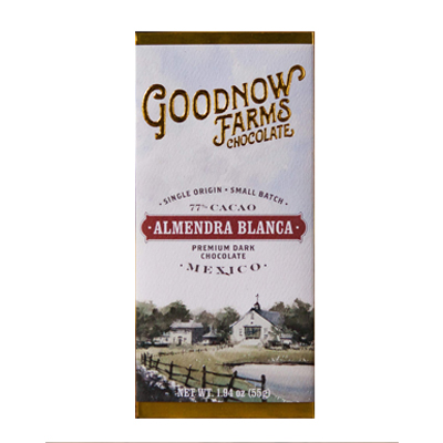 Goodnow Farms Chocolate - Almendra Blanca Dark Chocolate