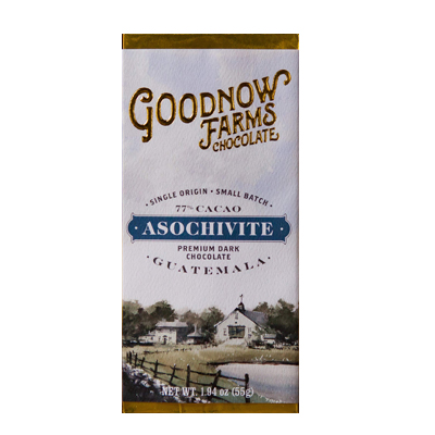Goodnow Farms Chocolate - Asochivite 77% Guatemalan Dark Chocolate