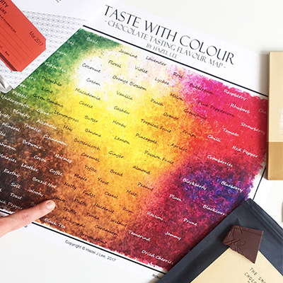 Canopy Market Tasting and Painting Workshop: Taste With Colour, October 19th, 12 noon