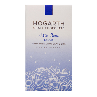 Hogarth - Bolivia Dark Milk Chocolate, 58%