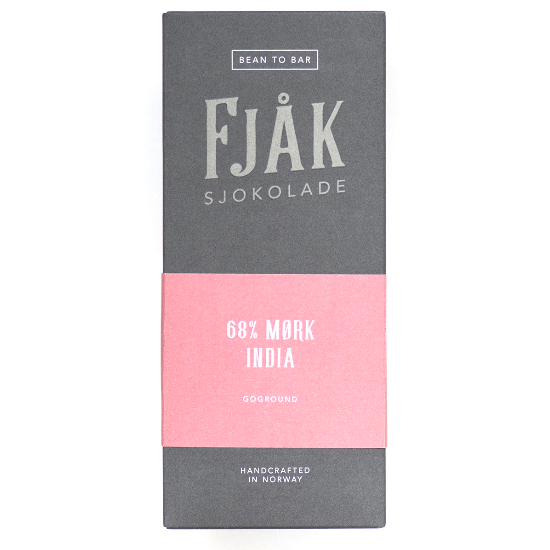 Fjak - Goground Estate India 68% Dark Bar