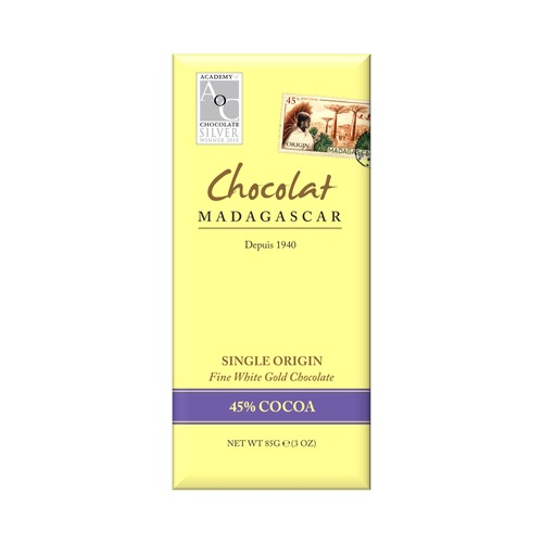 Chocolat Madagascar 45% White Chocolate