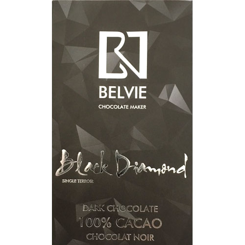 Belvie - 100% Black Diamond Dark Chocolate