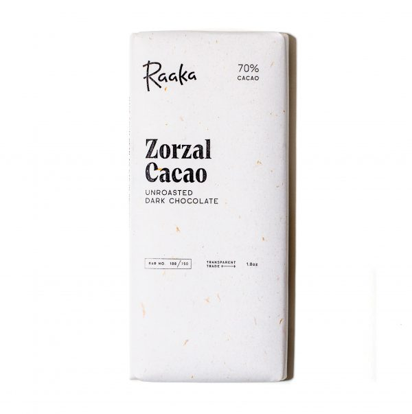 Raaka - Zorzal Estate, Dominican Republic Unroasted 70% Dark