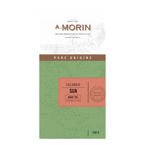 Morin - Colombia Suya 70% Dark Chocolate