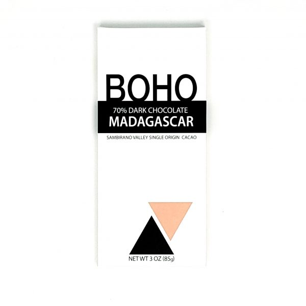 BOHO - Madagascar 70% Dark Chocolate
