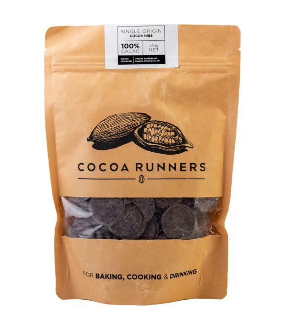 Cocoa Runners Cooking & Baking 100% Cacao 230g