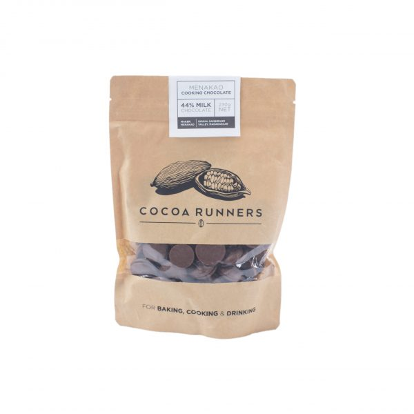 Cocoa Runners Cooking & Baking 44% Milk Chocolate 230g