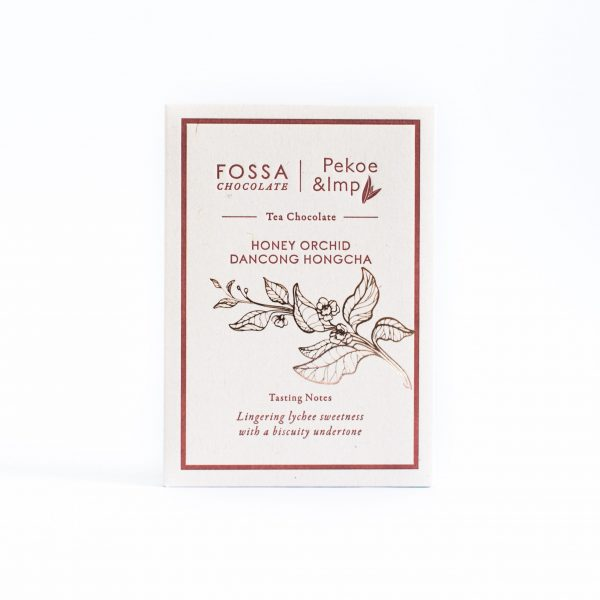 Fossa - Honey Orchid Dancong Oolong Tea Milk Chocolate
