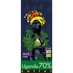 Zotter - Uganda 70% Dark Chocolate