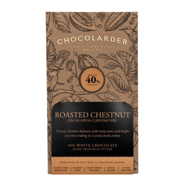 Chocolarder - Roasted Chestnut 40% White Chocolate
