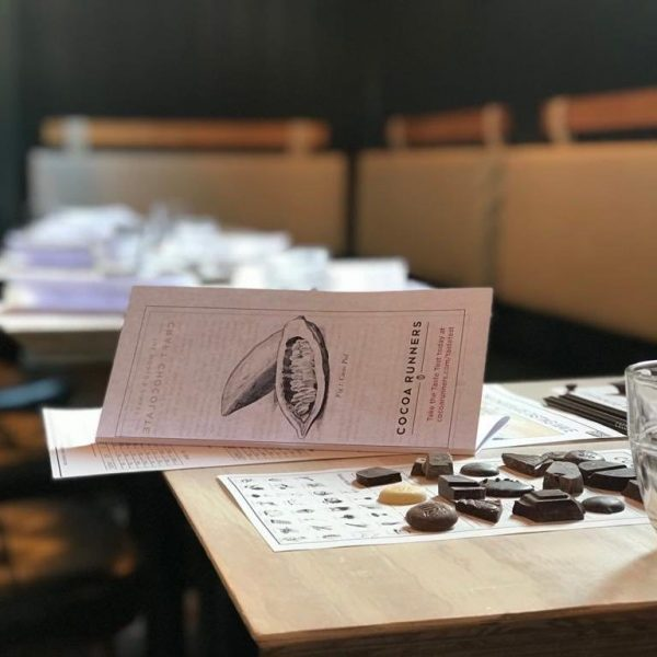 A Cocoa Runners Chocolate Tasting Evening, 29th March 2020, 2pm