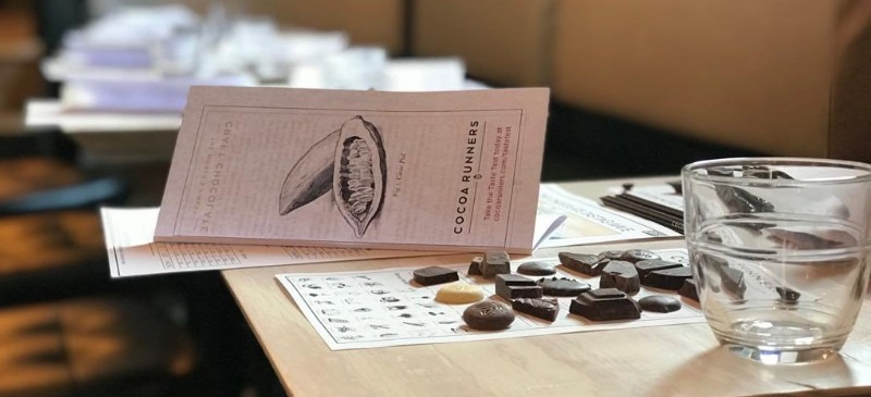 January Chocolate Tasting